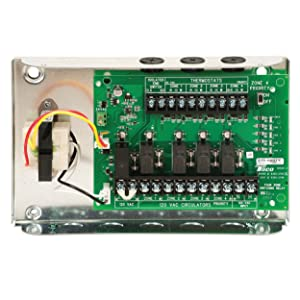 taco sr506 exp 4 switching relay 6 zone expandable sump accessories