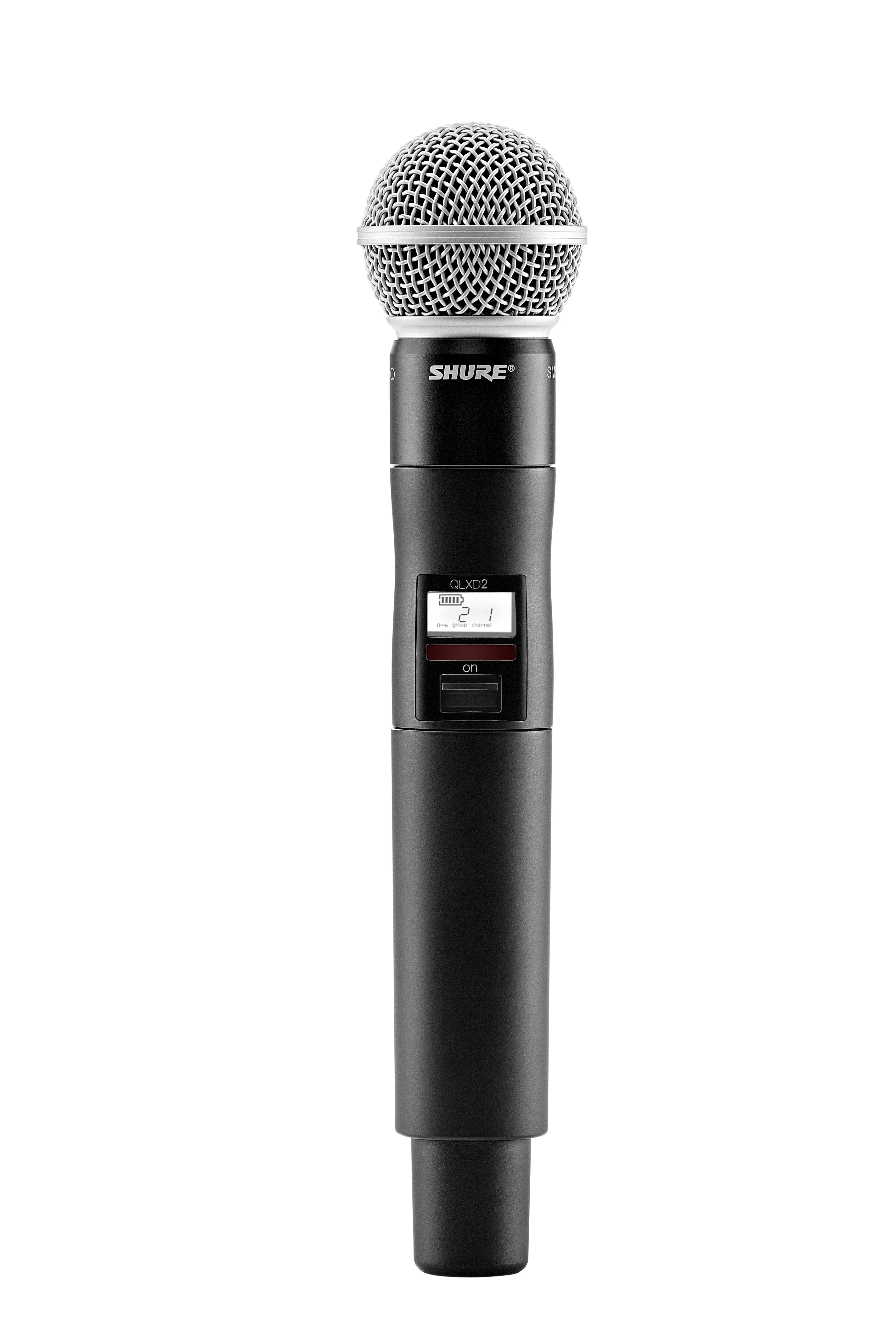 shure qlxd24 sm58 handheld wireless system with sm58 vocal microphone g50 musical. Black Bedroom Furniture Sets. Home Design Ideas