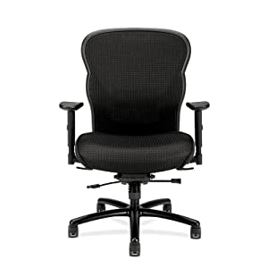 office chair, computer chair, black chair, big and tall chair, hon, hon chair, high back chair