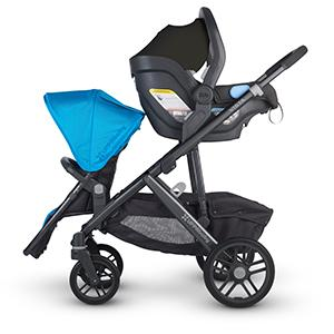 Amazon.com : UPPAbaby VISTA Upper Adapters (for VISTA 2015-later) :