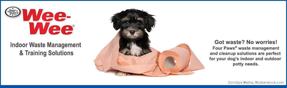 four paws, training pads, dog training pads, dog wee wee pads, puppy wee wee pads, house training