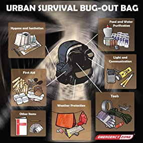 Backpack Urban shtf survival dystopia emergency preparedness disaster readinesss