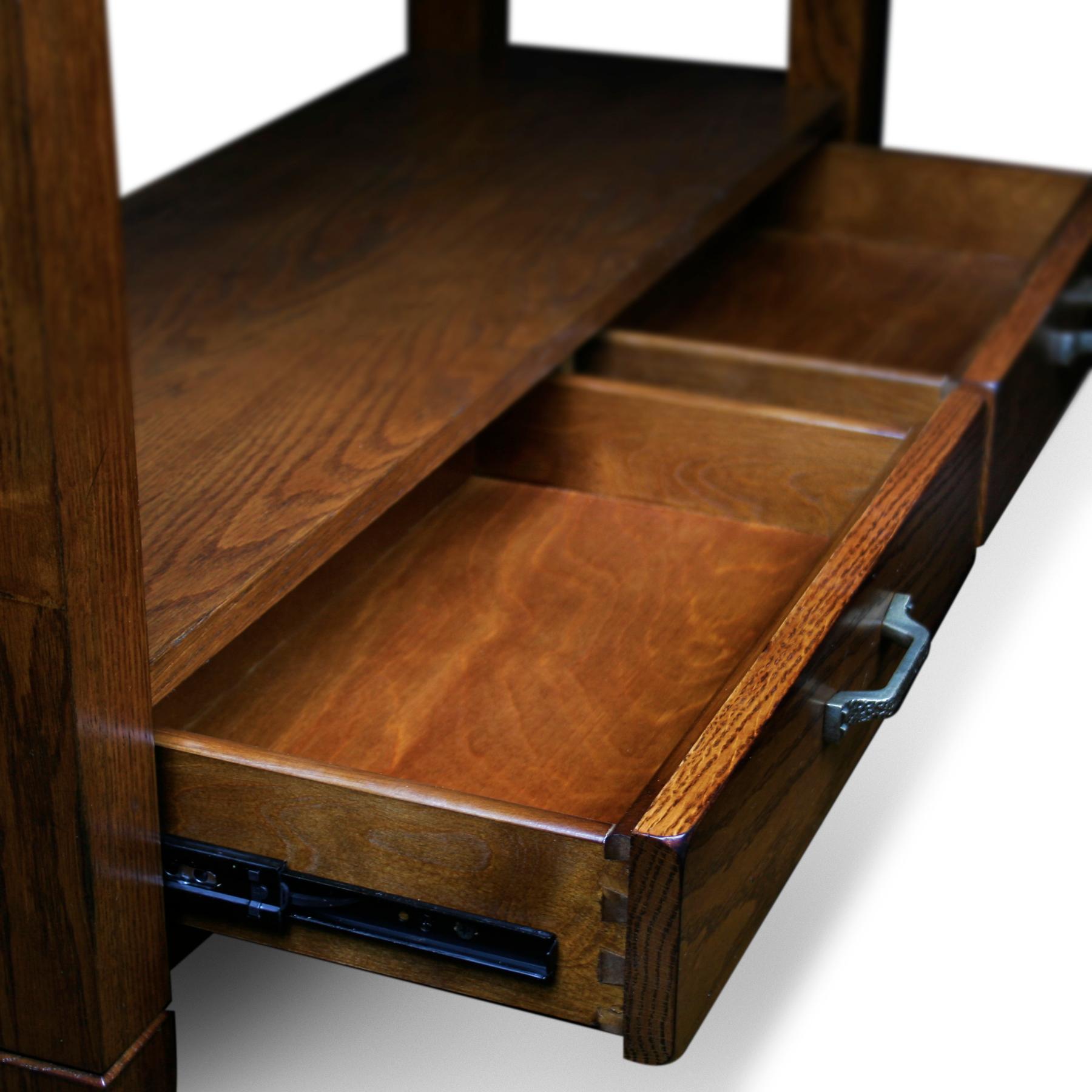 Amazon.com: Slatestone Oak Storage Console Table Rustic Oak Finish . Full resolution  image, nominally Width 1800 Height 1800 pixels, image with #77431E.