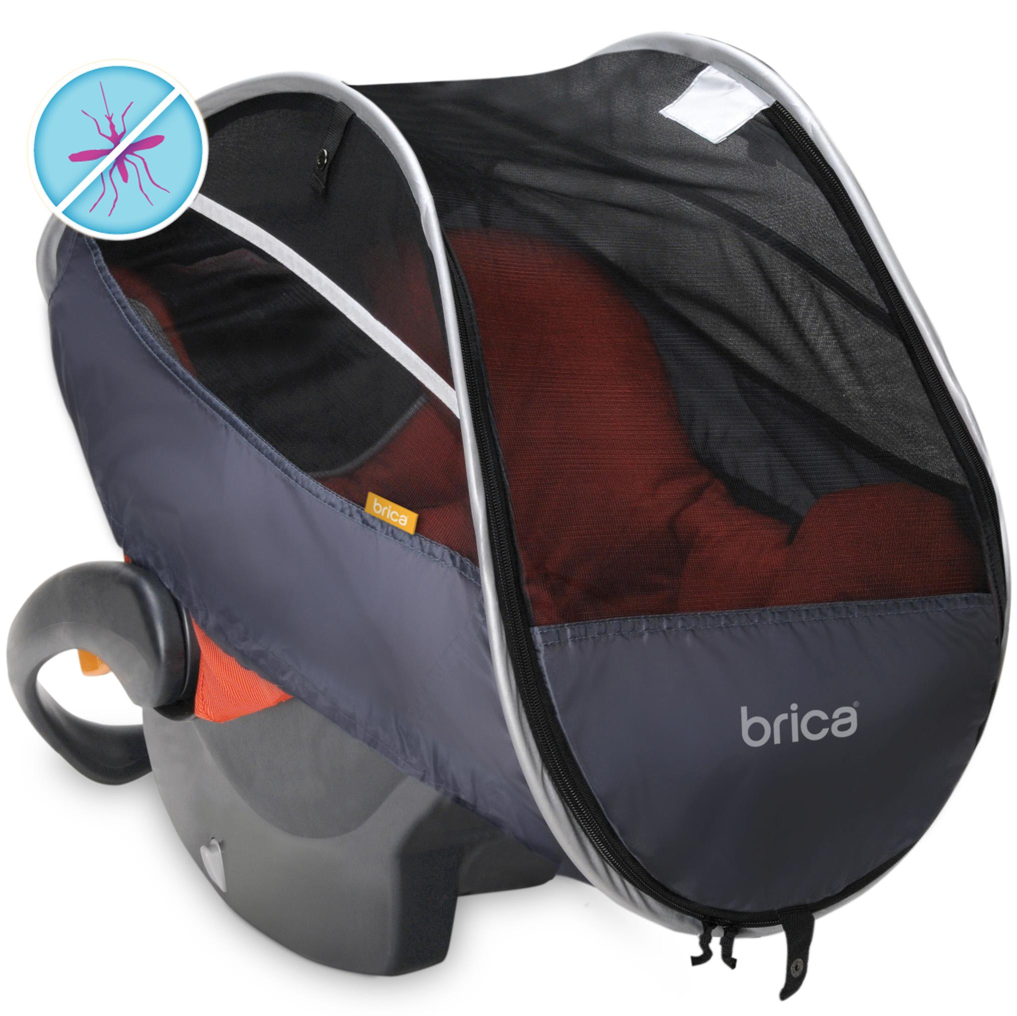 brica infant comfort canopy car seat cover baby. Black Bedroom Furniture Sets. Home Design Ideas
