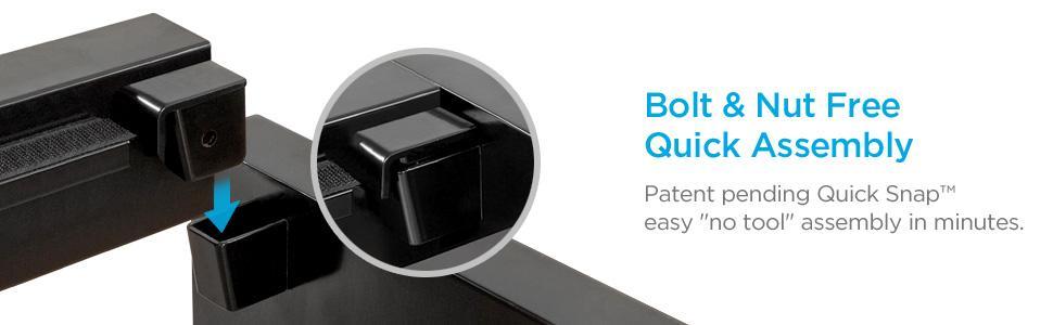 Amazon Com Zinus Quick Snap Tm 18 Inch Platform Bed Frame