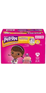 Learning how to potty train a toddler girl can be easier with Pull-Ups Learning Pants.