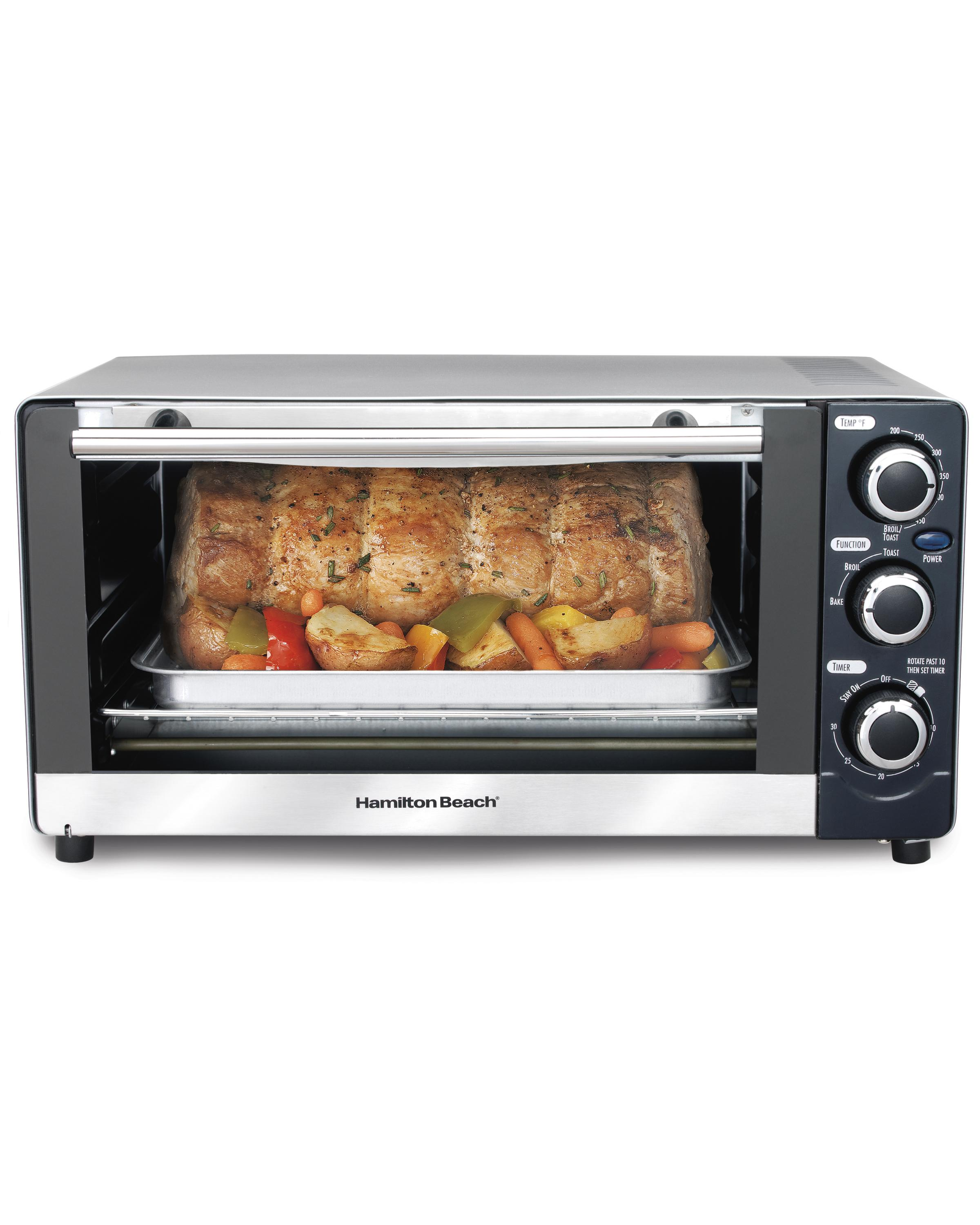 Amazon Com Hamilton Beach 31409 6 Slice Toaster Oven