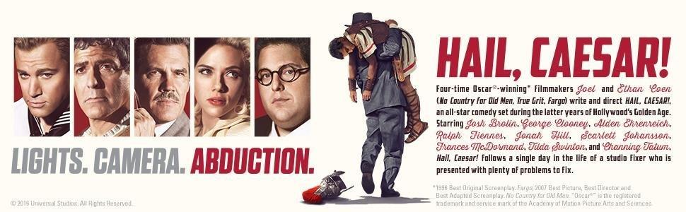 DVD, Blu-ray, Hail, Caesar, Hail Caesar, Coen, George Clooney, Josh Brolin