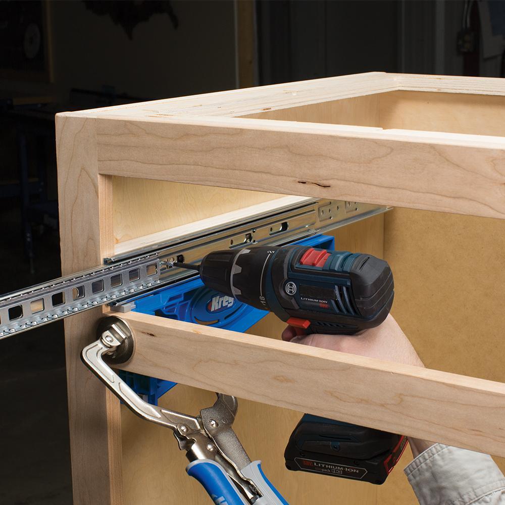 Kreg Tool Company Khi Slide Drawer Slide Jig Amazon Com