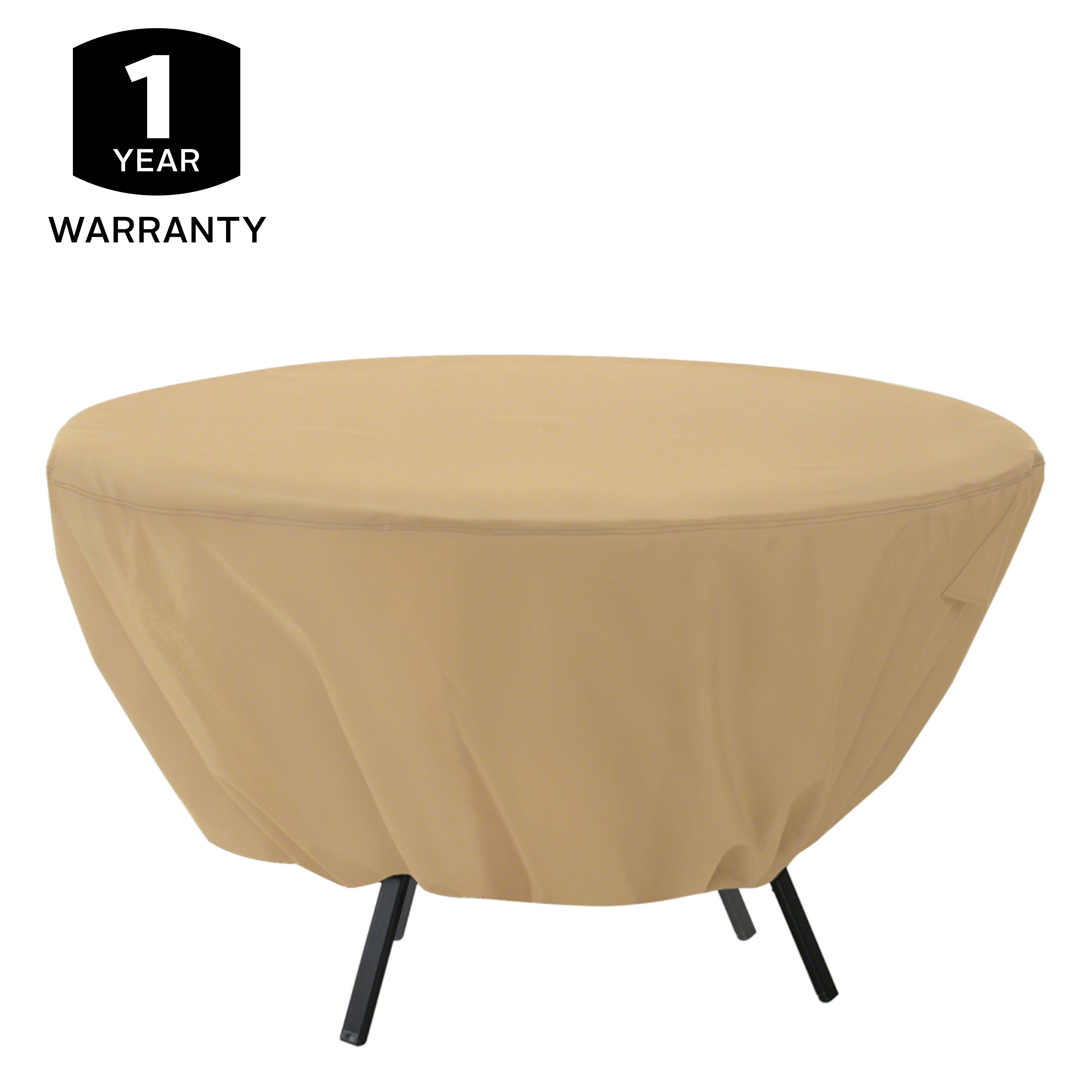 Amazon Classic Accessories Terrazzo Round Patio Table Cover All Weath