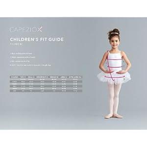 Capezio Girls Size Chart