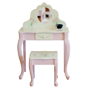 Girl Vanity, Kids Vanity, Child Vanity, Boutique Vanity, Gift, Kids  Furniture