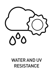 Water and UV Resistant