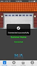open sesame garage door opener iphone android bluetooth