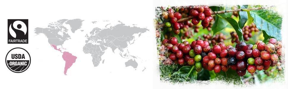 Happy Belly Espresso Roast Coffee, Origin Information