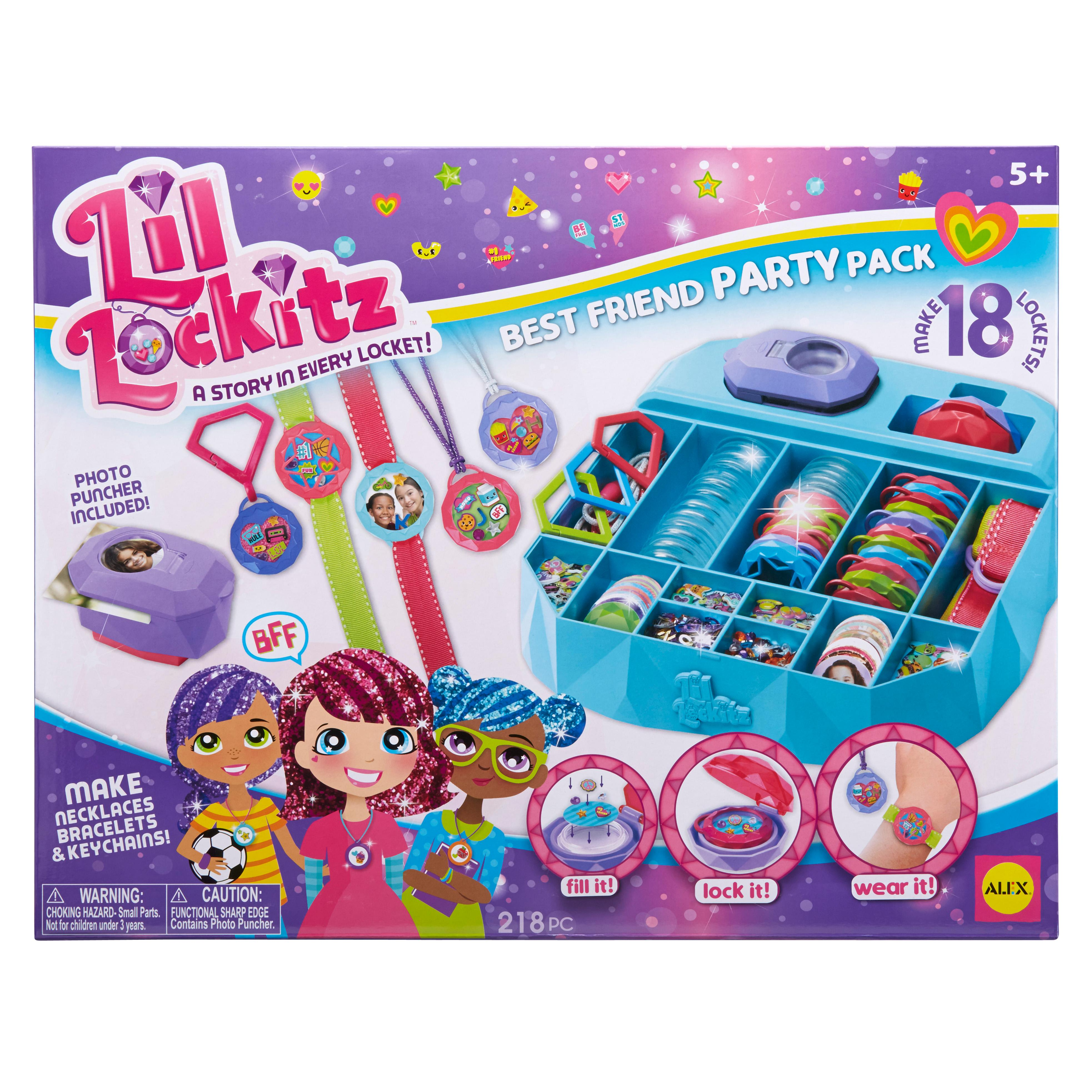 Amazon.com: Lil Lockitz Best Friend Party Pack: Toys & Games