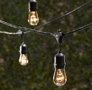 Bulbs For Outdoor Lights Amazon string light company vintage 48 ft outdoor commercial outdoor ambience workwithnaturefo