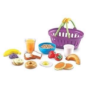 Amazon.com: Canasta de desayuno Learning Resources con ...