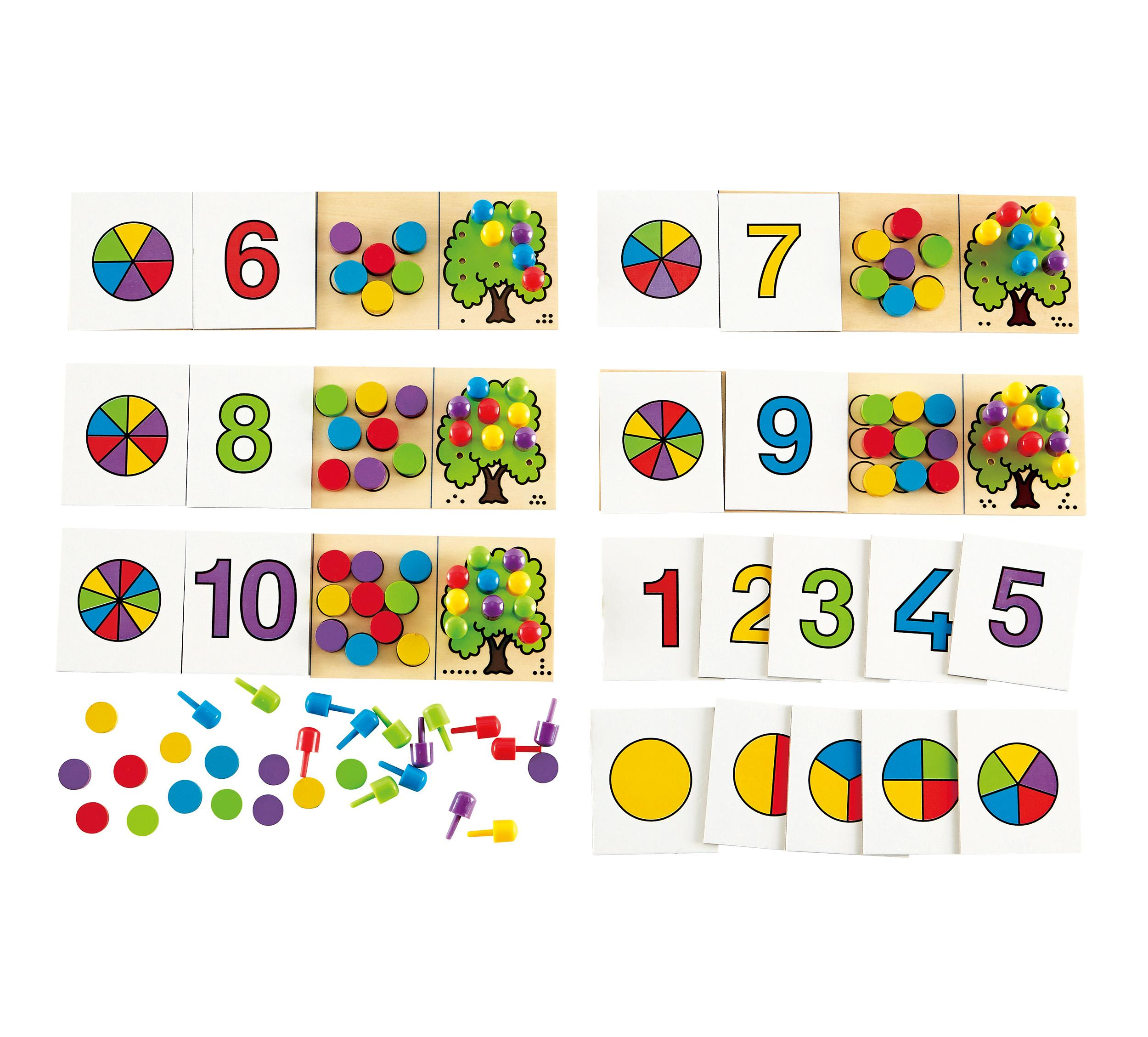 Amazon.com: Hape Converse Kid's Wooden Card Learning Game