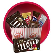 Enjoy M&M'S Chocolate Candies as your movie candy choice for theaters or gift baskets.