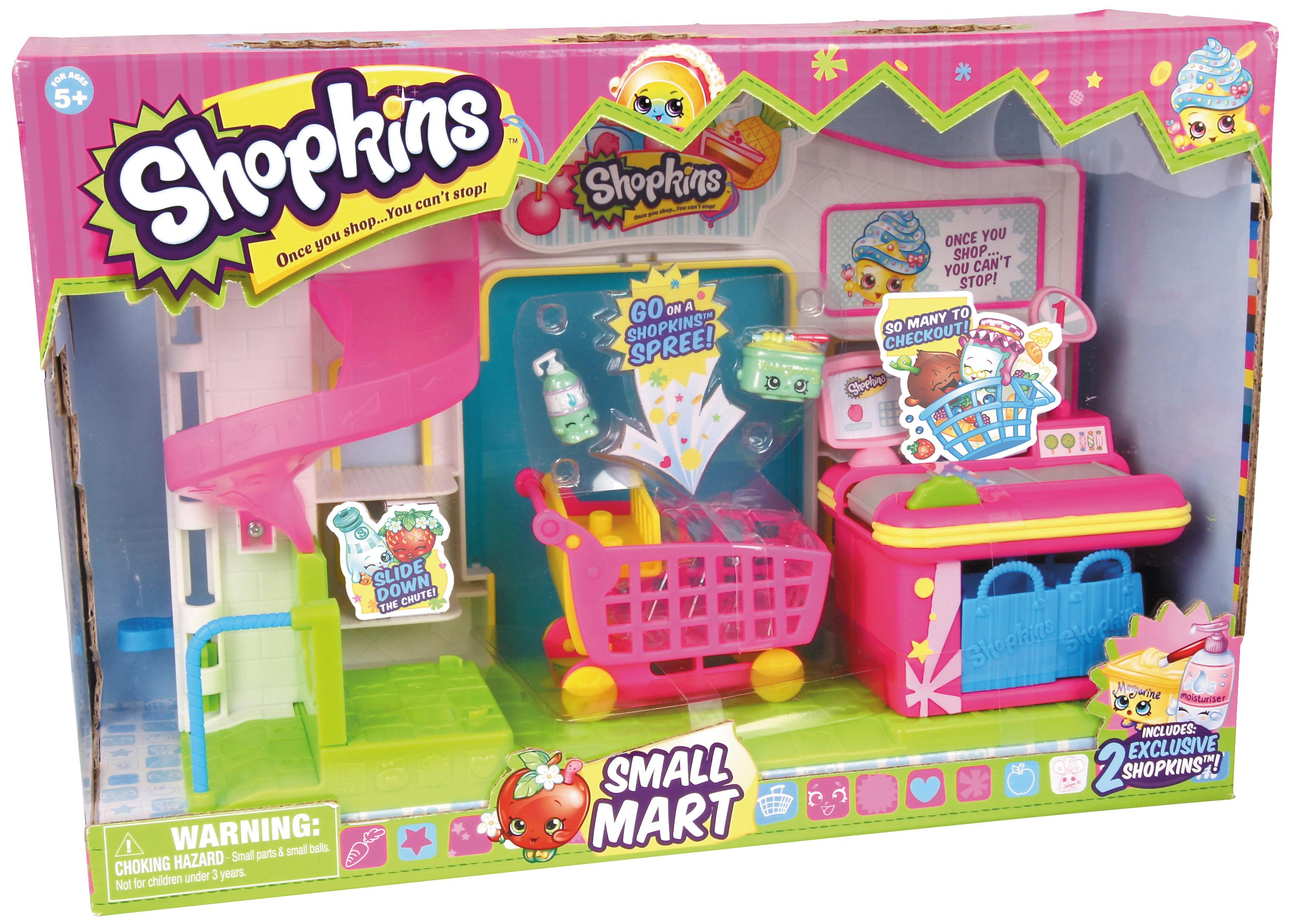 Amazon Com Shopkins Supermarket Playset Toys Amp Games