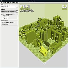 LulzBot TAZ 6, TAZ, LulzBot, TAZ 6, 3D printer, Cura, Slicer