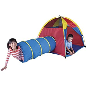 kids play  tent tunnel  sc 1 st  Amazon.com & Amazon.com: Pacific Play Tents Kids Hide-Me Dome Tent and Crawl ...