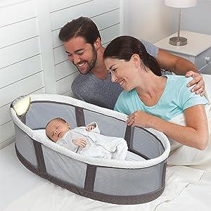 Amazon Com Serta Icomfort Infant Sleeper Gray Baby