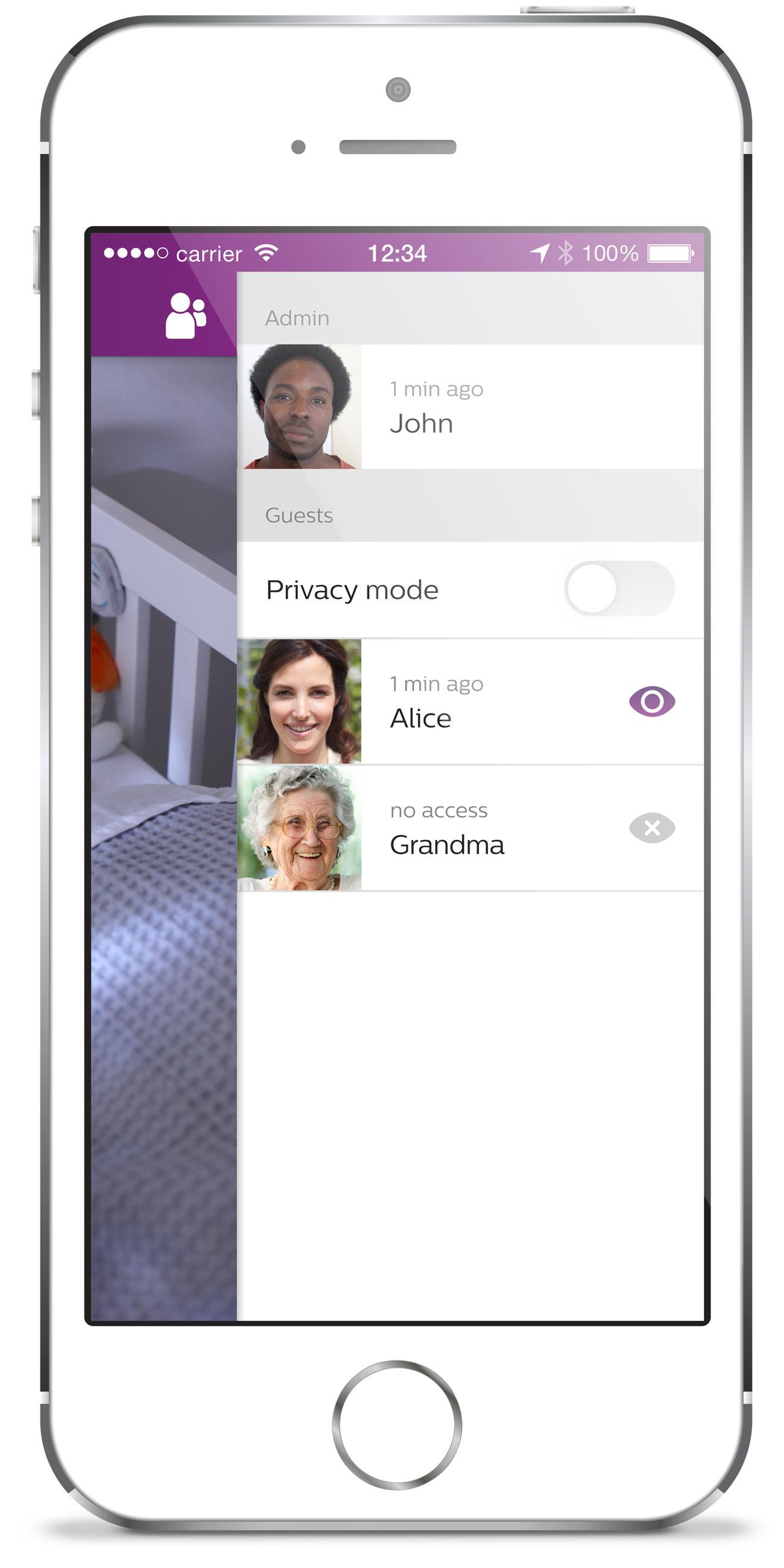 Amazon.com : Philips AVENT uGrow Smart Baby Monitor, White