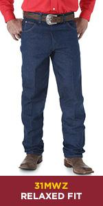 Wrangler Cowboy Cut Relaxed Fit Jean 31MWZ