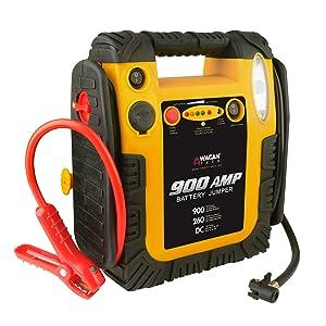 wagan tech power boost pack jump start jumper box 2412 900 amp