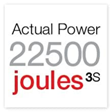 joules 3 S, actual power