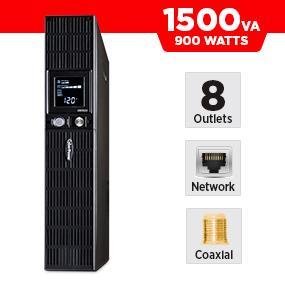 CyberPower OR1500LCDRT2U Battery Backup UPS