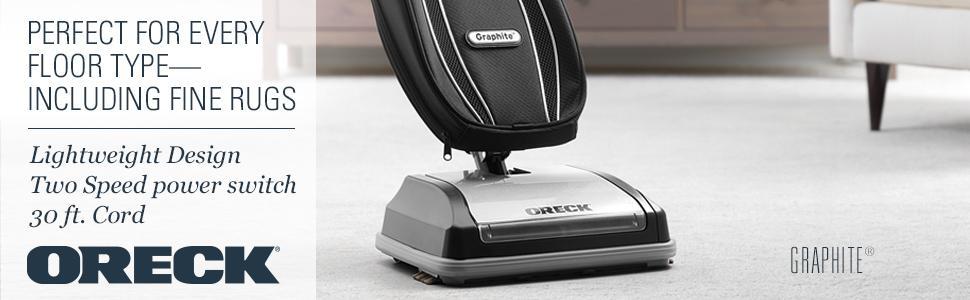Amazon Com Oreck Graphite Bagged Upright Vacuum