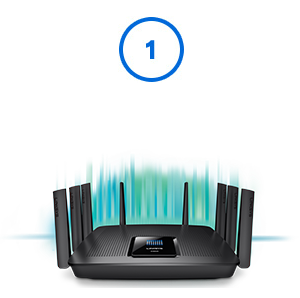 Linksys Smart Wi-Fi Setup Step1