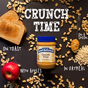 crunch time crunchy peanut butter