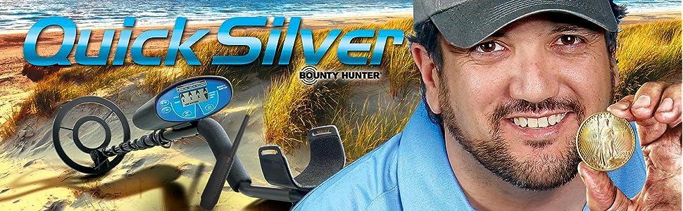 Bounty Hunter Metal Detector Quick Silver