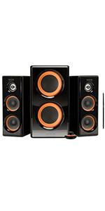 2.1 speakers with subwoofer, bass 2.1 speakers, bass speakers, 2.1 computer bass speakers