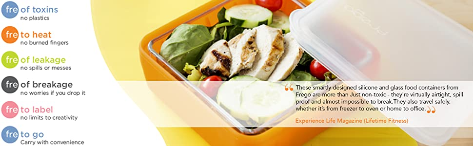 food storage containers, innovative, durable, silicone, durable, lunch containers