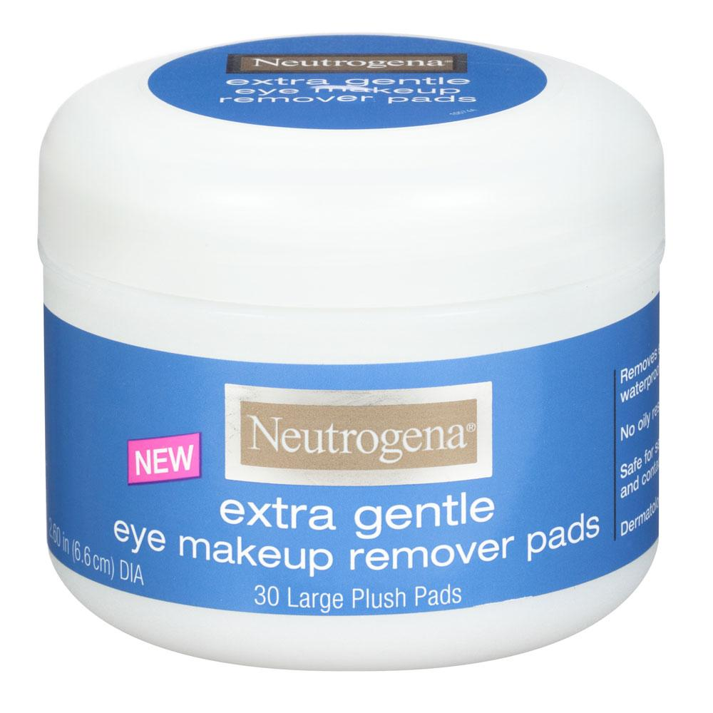 Amazon Neutrogena Extra Gentle Eye Makeup Remover Pads