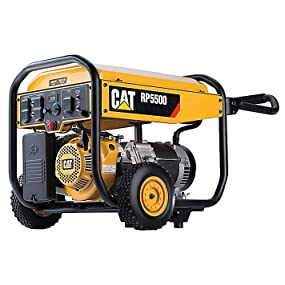 Portable Generator Cat RP5500 5500 Running Watts 6875 Starting Watts