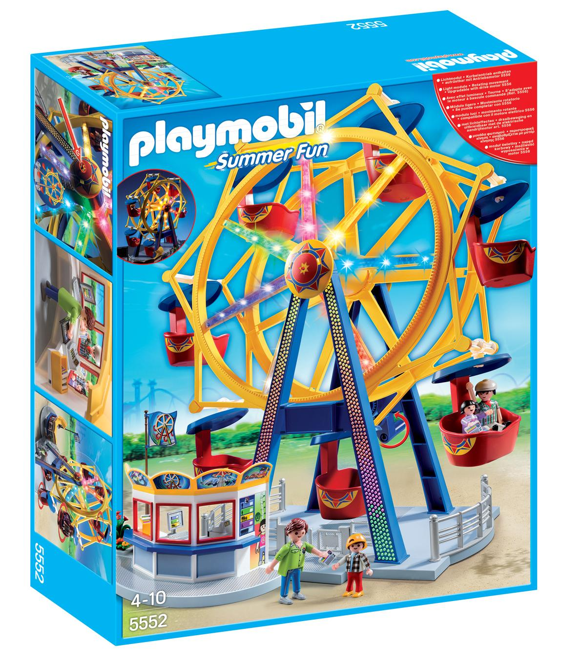 Amazon.com: PLAYMOBIL® Ferris Wheel With Lights Set: Toys