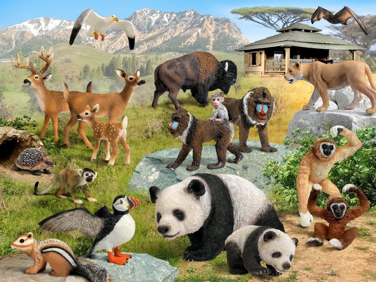 The Wild Toys : Amazon schleich tiger varios toys games