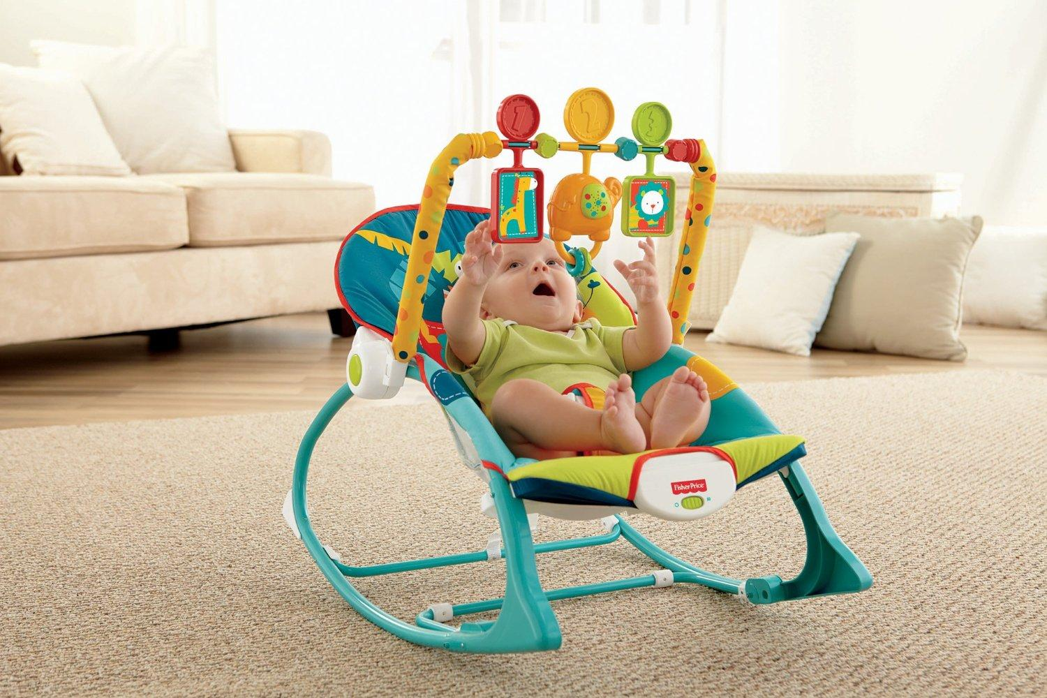 Fisher Price Infant To Toddler Rocker Dark