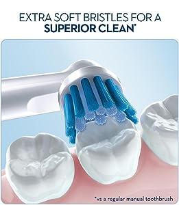 oral b, oral b toothbrush, soft toothbrush, sensitive toothbrush, brush head, brush teeth