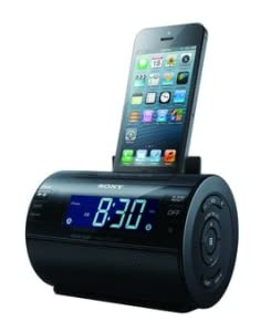 Sony ICFC11IP Lightning iPhone/iPod Clock Radio Speaker Dock