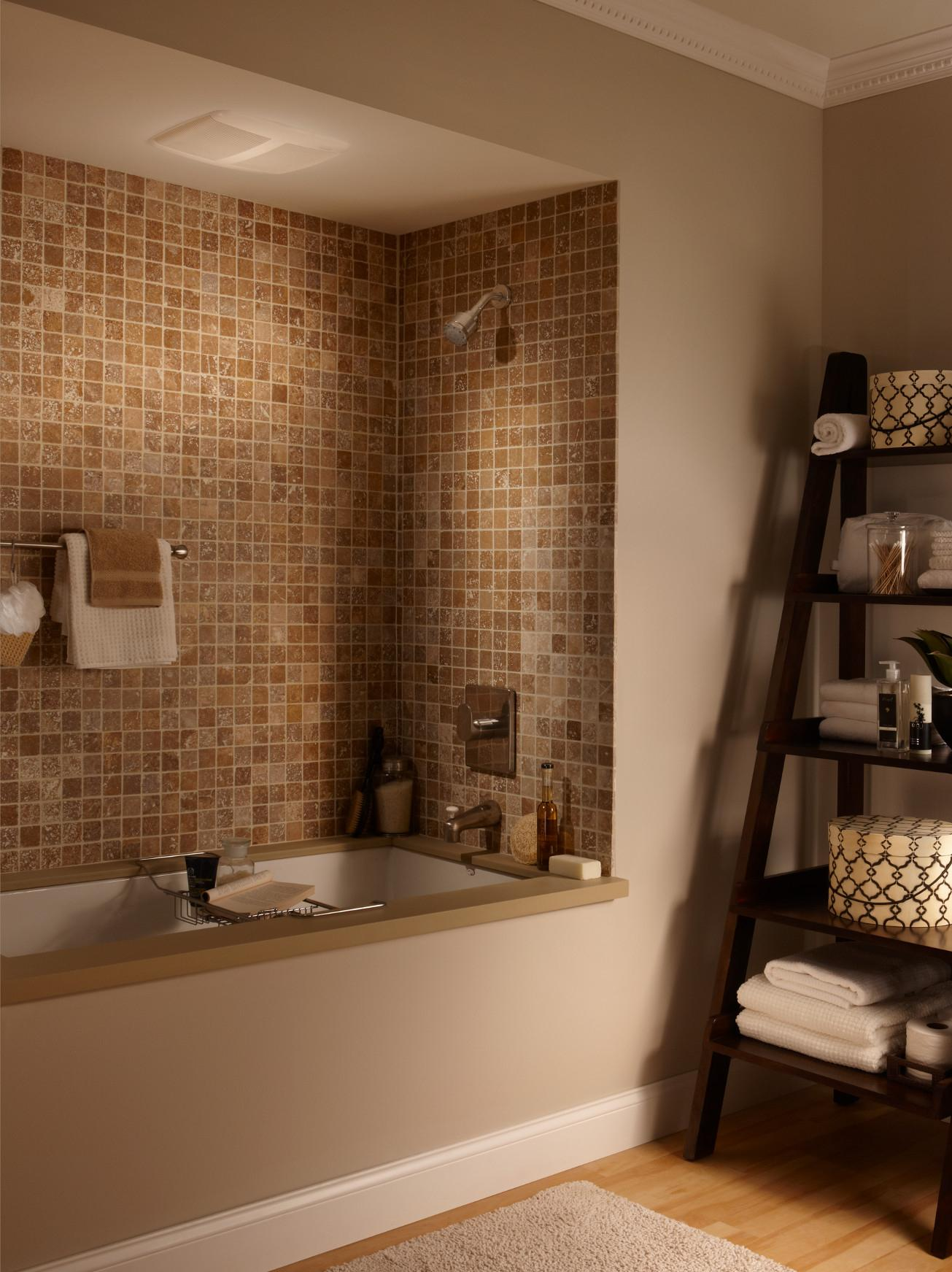 Broan Qtr080 Ultra Silent Bath Fan 1 0 Sones 80 Cfm Bathroom Fans
