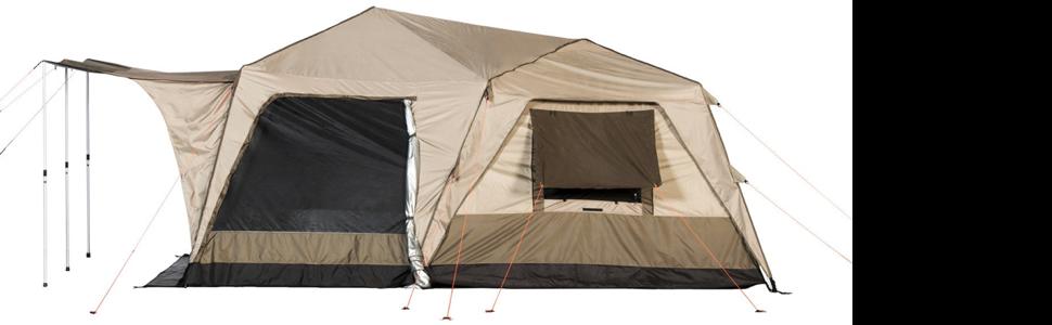 Luxurious Two-Room Supreme Turbo Tent  sc 1 st  Amazon.com & Amazon.com : Black Pine Sports Supreme 6-Person Turbo Tent ...