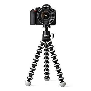Amazon.com : JOBY GorillaPod SLR Zoom. Flexible Tripod with ...
