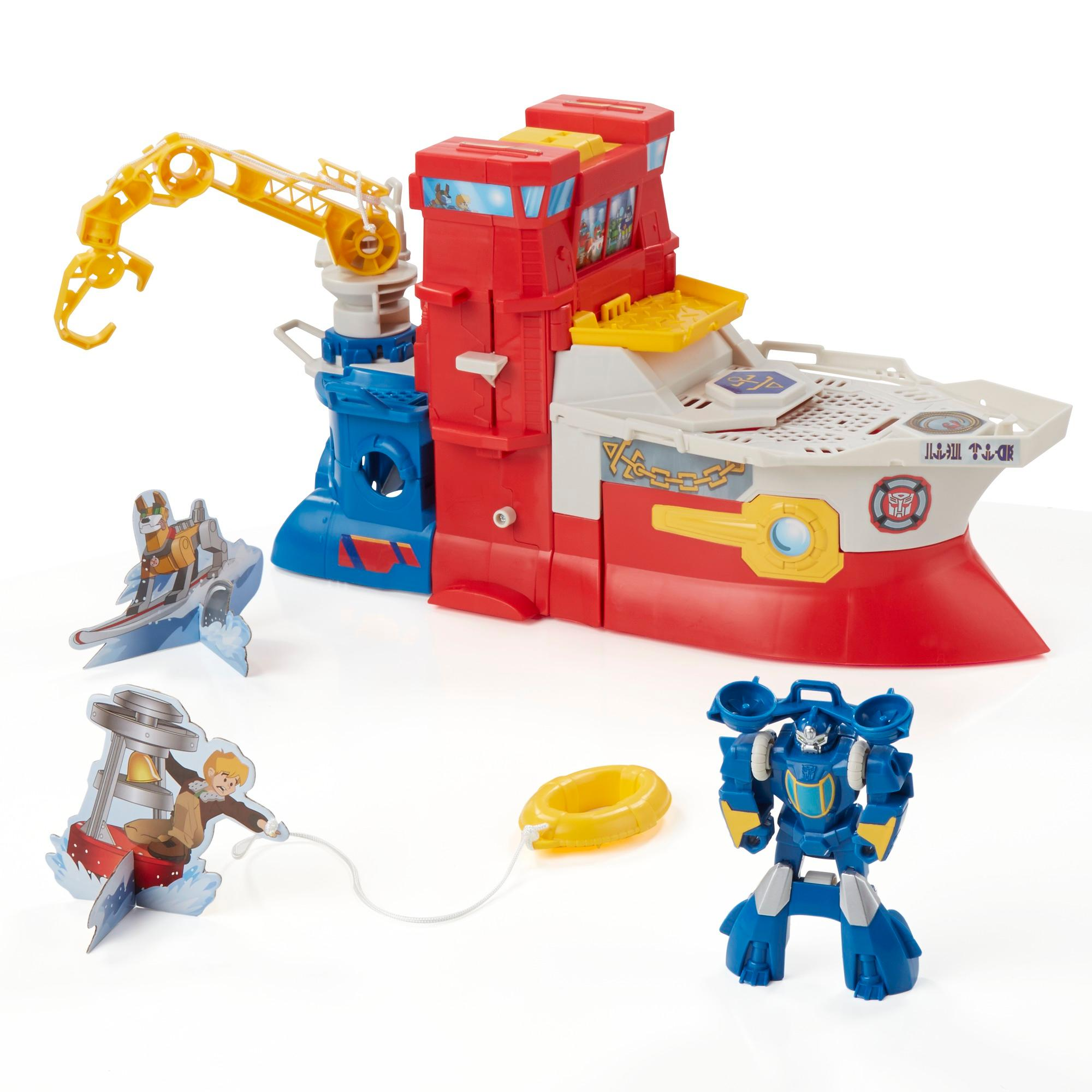 Amazon.com: Playskool Heroes Transformers Rescue Bots High ...